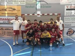 Intern. Turniersieg in der Schweiz durch - Handball Jugendbundesligist TuS Schutterwald