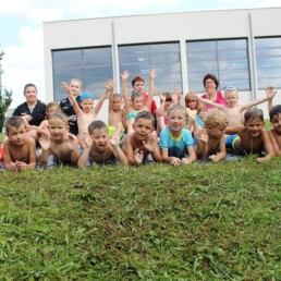 Badespaß beim TuS Schutterwald - Unsere Mini-Handballer