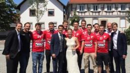 Wir gratulieren zur Hochzeit - Andreas und Stefanie Bachmann