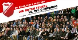 TuS Schutterwald vs. VfL Günzburg - Sonntag 23.18 16:00 Uhr