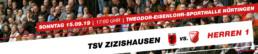 TuS Schutterwald Herren 1 vs. TSV Zizishausen | Sonntag 15.09.19 | 17:00 Uhr | Zizishausen