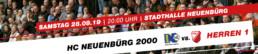 TuS Schutterwald Herren 1 vs. HC Neunebürg 2000 | Samstag 28.09.19 | 20:00 Uhr | Neunbürg